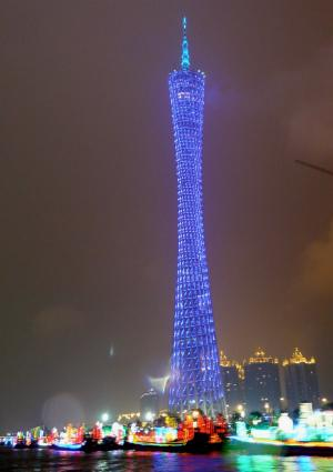 Canton Tower am Perlfluss
