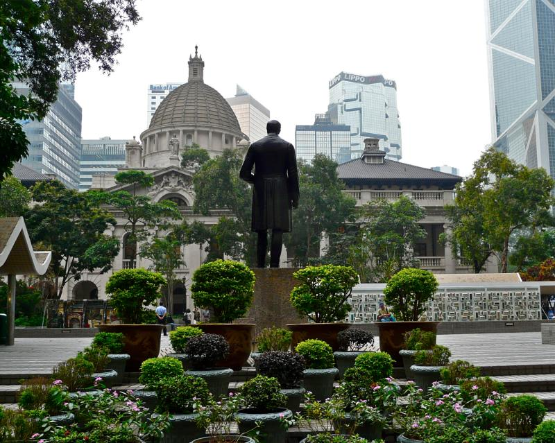 Hong Kong Central Statue Sqare