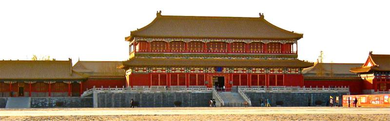Chinas Kaiserpalast in Peking