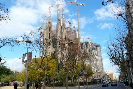 Gaudis Sagrada Familia in Barcelona